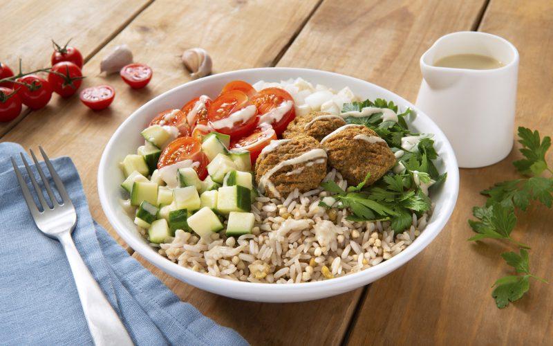 Falafel Grain Bowl