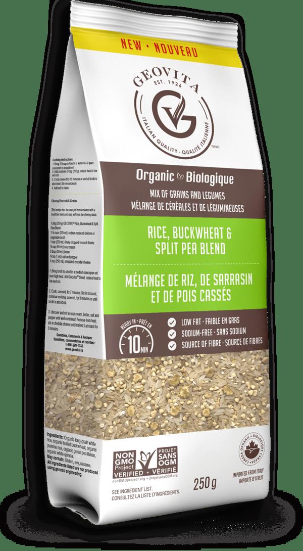 Geovita: Rice, Buckwheat & Split Pea Blend